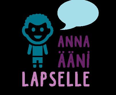Anna ääni lapselle -logo