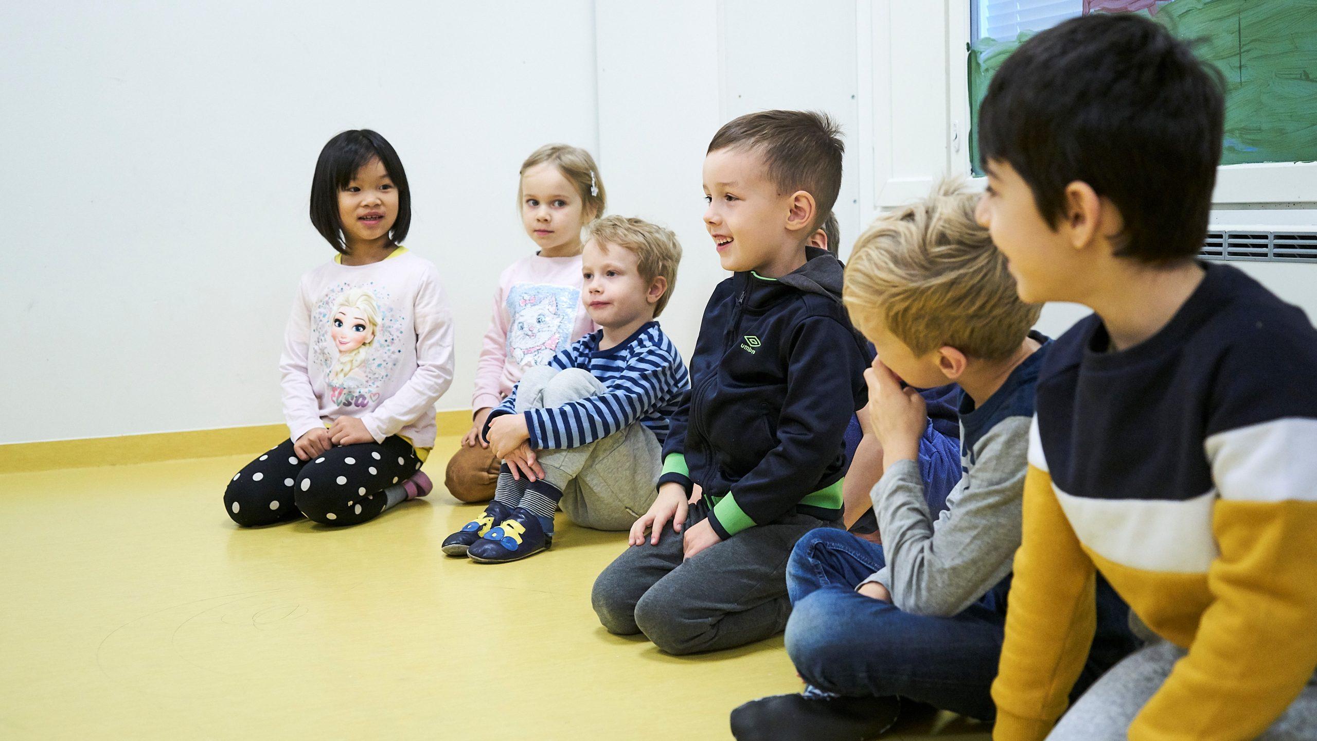 Turvallinen osallisuus varhaiskasvatuksessa on jokaisen lapsen oikeus