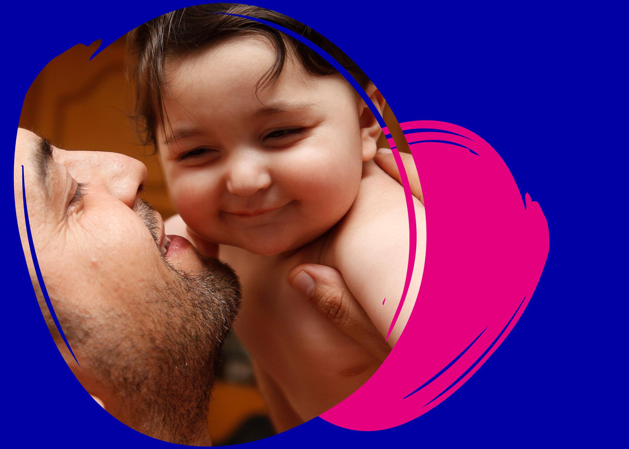 Ensitieto luo pohjan lapsen ja vanhemman vuorovaikutukselle