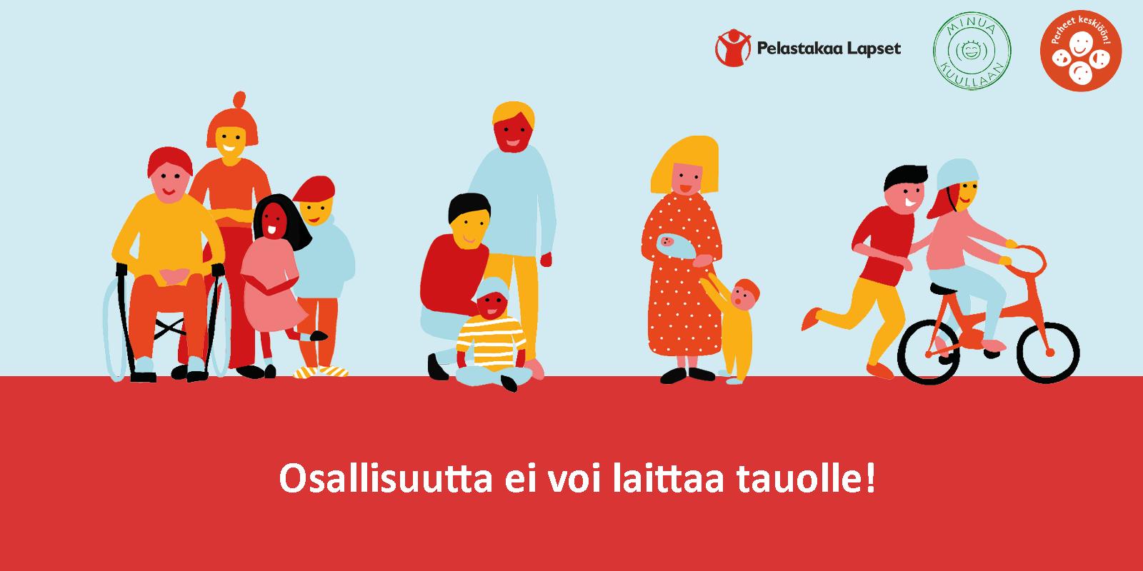 Perhekeskuksetsuunnannäyttäjinä perheiden osallisuudessa