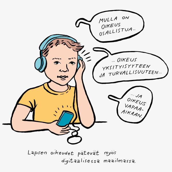 Lapsi verkossa – Näkökulmia lasten oikeuksiin ja tietosuojaan digitaalisessa ympäristössä -julkaisutilaisuus