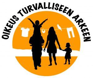 Oikeus turvalliseen arkeen logo blogiin 6.2.2020